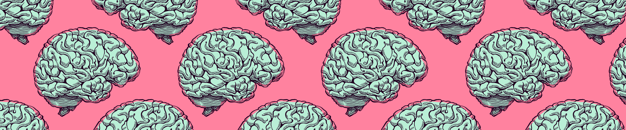 Brain Illustration Background