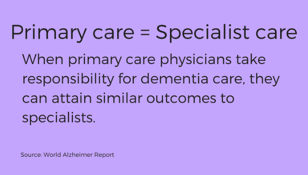 primary and specialist care