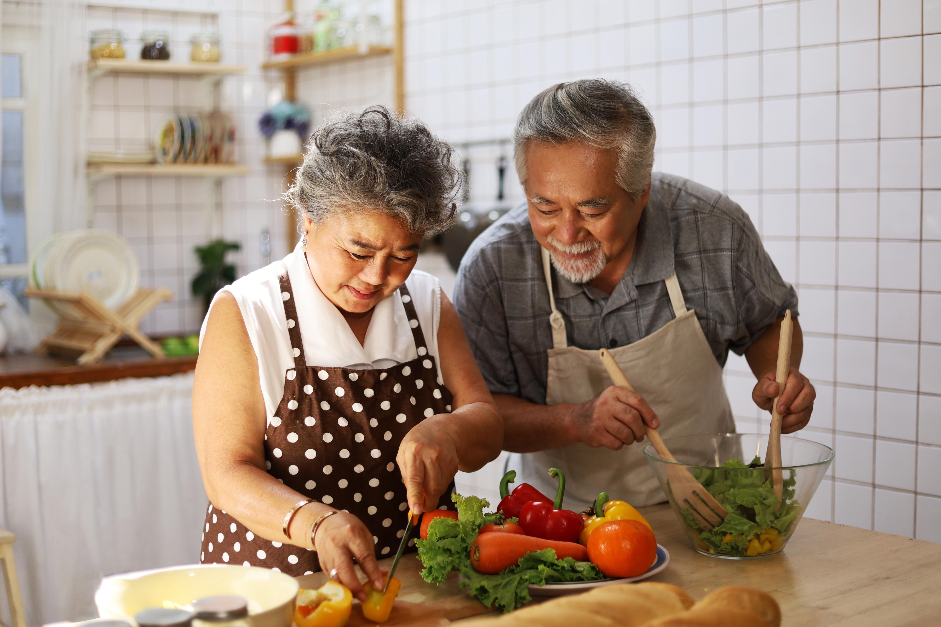 AAPI Couple Cooking