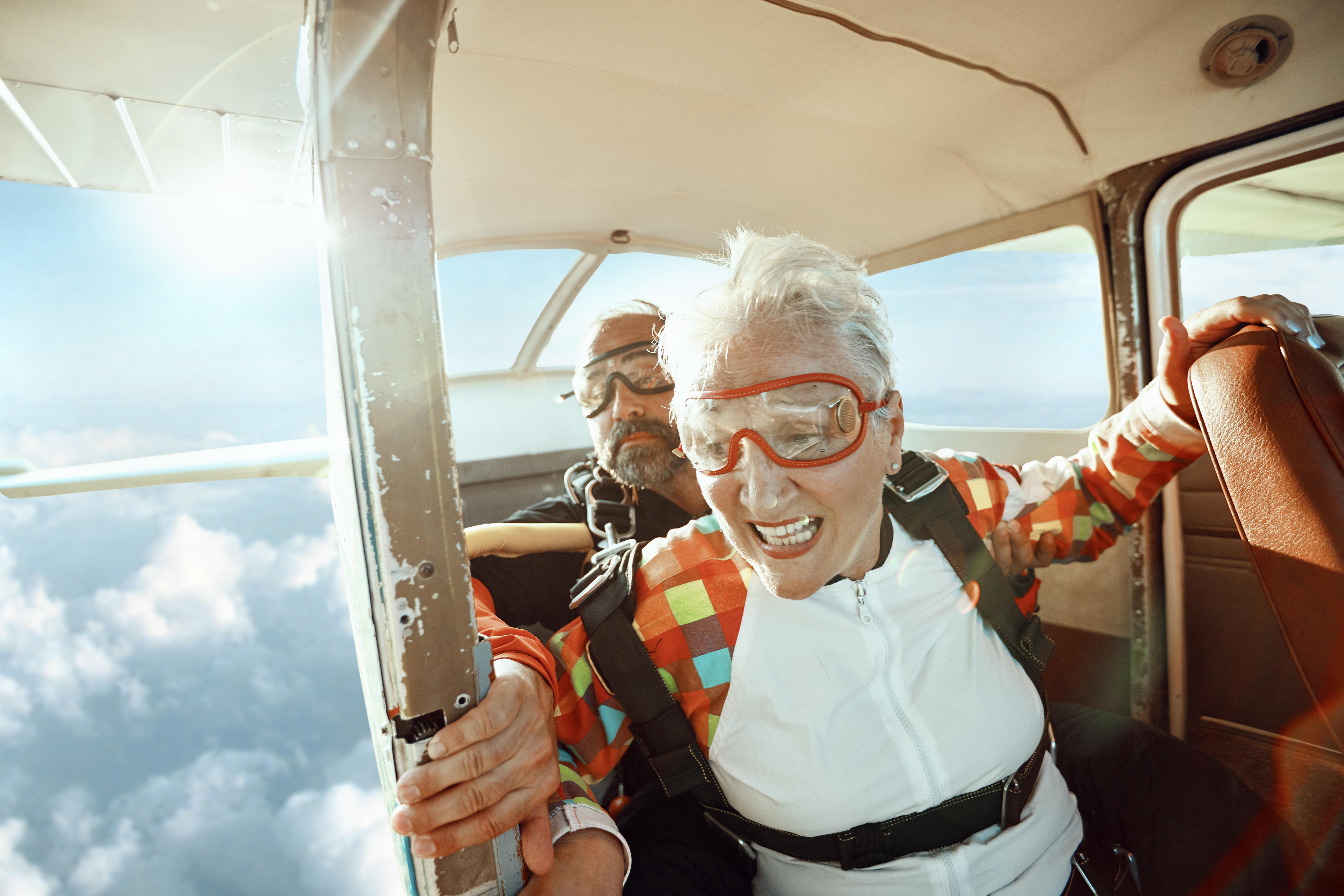 Senior Skydiver